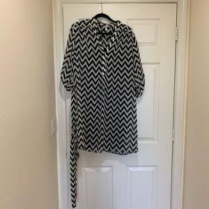 Basic chic chevron dress